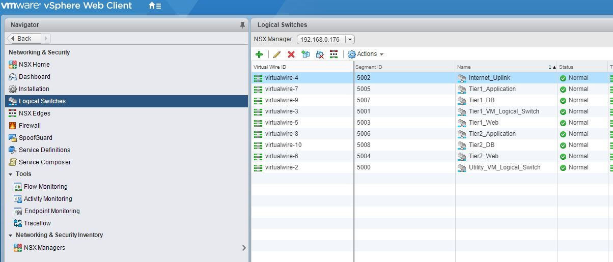 Automate NSX Logical Switch Creation Using PowerNSX - The